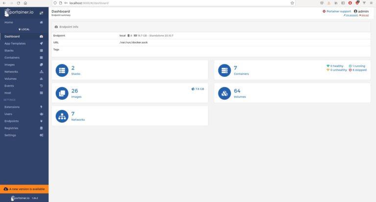 Docker GUI – Portainer easy und übersichtlich